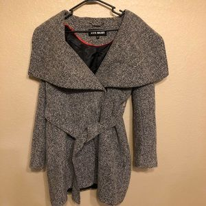 Steve Madden Tweed Coat size s